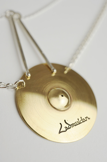 CYMBALS NECKLACE