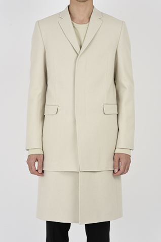 LAYERED CHESTER COAT